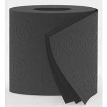 Toiletpapierrol 3-laags 140 vel zwart Productfoto