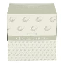 PrimeSource facial tissue box Kubus 11x11x11 cm 2-laags wit Productfoto