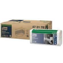 Tork Kitchen werkdoek papier 42.8x35.5 cm 1-laags gevouwen wit Productfoto