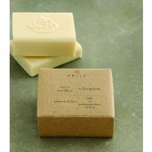 Prija vierkante zeep in gerecycled kartonnen doosje 40 gr Productfoto