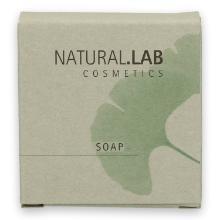 Natural Lab jojoba & macadamia zeep 30 gram wit Productfoto
