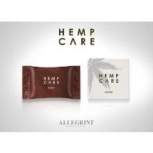Hemp Care plantaardige zeep in doosje 20 gr wit Productfoto