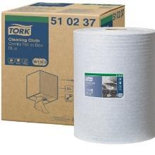 Tork Cleaning werkdoek papier 152 m 1-laags 400 vel blauw Productfoto