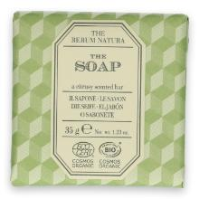 The Rerum Natura The soap 35 gr wrapped (Ecocert) Productfoto