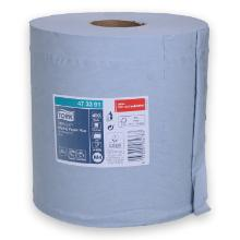 Tork Reflex™ Wiping Plus Centerfeed poetspapier 150 m 2-laags M4 blauw Productfoto