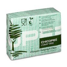 Chicopee non woven werkdoek J-cloth Plus Biodegradable 43x32 cm groen Productfoto