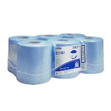 Kimberly-clark wypall l10 poetsrol 525v 1l blauw Productfoto