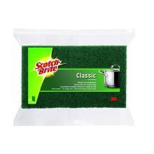 Scotch-Brite 3M schuurpad Classic 15.8x9.5 cm groen Productfoto