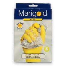 Marigold Plus latex handschoen S geel (paar) Productfoto