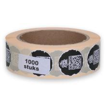 The Good Roll sticker ø 30 mm 1000 stuks op rol Productfoto