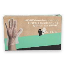 HDPE handschoen L transparant Productfoto