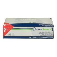 PrimeSource latex handschoen M blauw gepoederd Productfoto