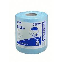 Kimberly-clark wypall l20 doek 20x38 1l blauw Productfoto