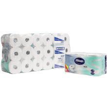 Kimberly-clark Kleenex toiletpapier 2l 600v wit Productfoto