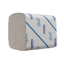 Kimberly-Clark Scott® toiletpapier tissue 12x19 cm 2-laags gevouwen 250 vel wit Productfoto