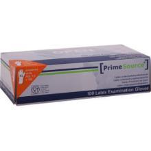 PrimeSource vinyl handschoen XL wit gepoederd HACCP Productfoto