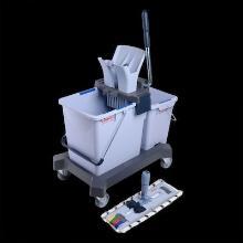 Vileda starterskit dubbele rolemmer UltraSpeed Pro 8/25L grijs Productfoto