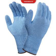 Snijhandschoen profood maat 6 lichtblauw Productfoto