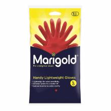 Marigold Handy latex handschoen L rood (paar) Productfoto