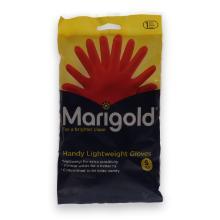 Marigold Handy latex handschoen S rood (paar) Productfoto