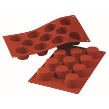 Silicon bakmat Mini Muffin 1/3 GN - model O Productfoto