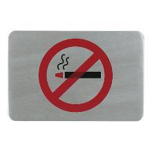 Tekstplaatje rookverbod rechth. 110x60 Productfoto