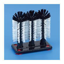 Glazenspoelborstel 3-dlg nylon 24cm Productfoto