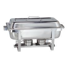 MaxPro RVS 18/10 chafing dish Basic 1/1 GN 62x35x37 cm Productfoto