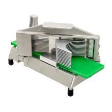 "RVS / LDPE tomatensnijder 3/16""cut zilver groen Productfoto"