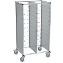 Afruimwagen aluminium tawalu 2/20 lichtgrijs Productfoto
