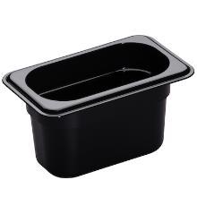 Gastronormbak 1/9 GN 10cm 94cw-110 pc zwart Cambro Productfoto