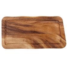 Houten plank met gleuf rechthoekig 35 cm Productfoto