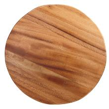 Pizzaplank rond 32x2 cm acacia hout Productfoto