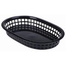 Fastfood mand 27.5x17.5 cm zwart Productfoto