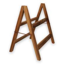 Acacia presentatiestelling voor leisteen en marmeren plateaus 38x32x40 cm hout Productfoto