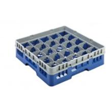 Vaatwaskorf 25 vaks max ø 8.7 cm blauw Productfoto