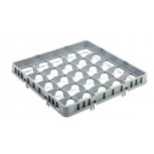 Vaatwaskorf verhoger 25 vaks max ø 8.7 cm grijs Productfoto