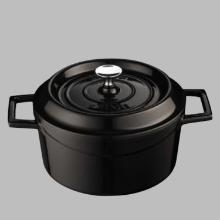 Lava Cooking gietijzeren braadpan ø 32 cm 10L mat zwart Productfoto