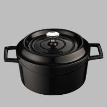 Lava Cooking gietijzeren braadpan ø 28 cm 6.7L mat zwart Productfoto
