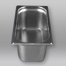 RVS gastronormbak 1/3 GN 32.5x17.6x15 cm 5.7L Productfoto