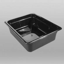 PC gastronorm inzetbak 1/2 GN 32.5x26.5x15 cm zwart Productfoto