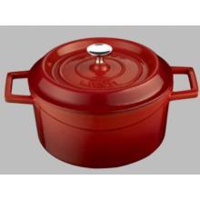 Lava Cooking gietijzeren braadpan ø 32 cm 10L rood Productfoto