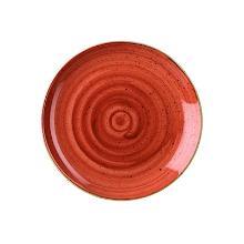 Churchill Stonecast coupe plate evolve 28.8cm orange Productfoto