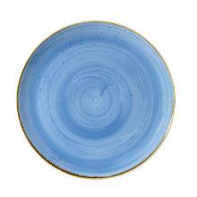 Churchill Stonecast Cornflower Blue coupe plate evolve 28.8cm Productfoto