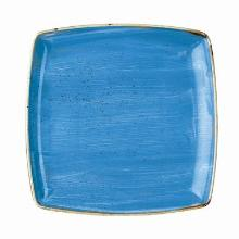Churchill Stonecast Cornflower Blue diep bord 26.8 cm vierkant Productfoto