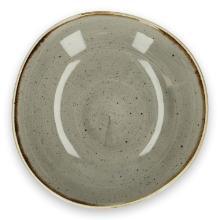 Churchill Stonecast Gray organisch ronde schaal 25.3 cm Productfoto