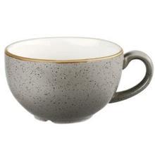 Churchill Stonecast Peppercorn Grey cappuccino mok 34 cl ø 11 cm Productfoto