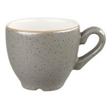 Churchill Stonecast Peppercorn Grey espresso kopje 10 cl ø 6.5 cm Productfoto