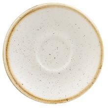 Churchill Stonecast Barley White espresso schotel ø 11.8 cm Productfoto