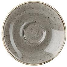 Churchill Stonecast Peppercorn Grey espresso schotel ø 11.8 cm Productfoto